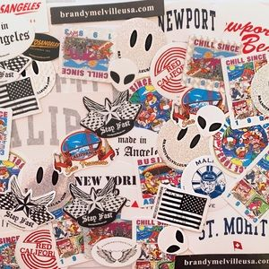 1 pack of 60 stickers from Brandy Melville